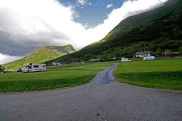 Campingplatz in Norwegen