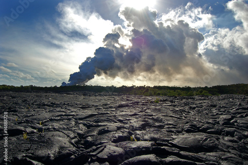 Leinwandbild Motiv Kilauea, Big Island