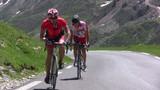 efforts de cyclistes poster