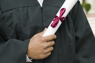 Graduate Holding Diploma, mid section