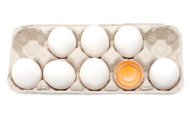 Egg, yolk in shell