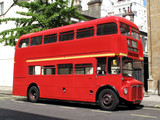 Fototapety London Routemaster red double decker bus