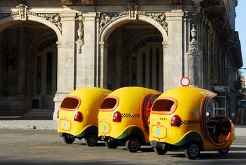 cocotaxi for tourist transport in havana cuba