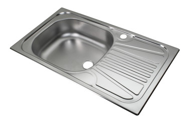 Kitchen sink. File includes clipping path
