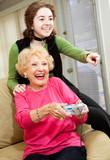 Grandma Loves Video Games poster