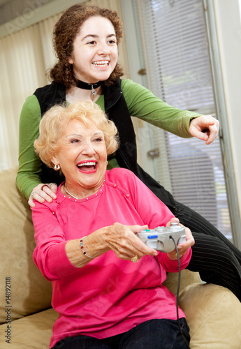 poster of Grandma Loves Video Games