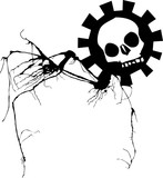 Nightmare Skull poster