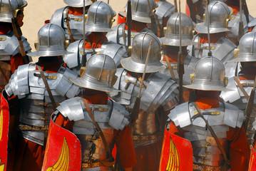 roman soldiers  in jordan