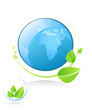 ecology icon. green concept.