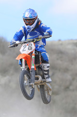Motocross junior 28