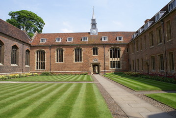 Front court of Magdalene College