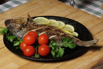 Grilled Fish - Sparus auratus