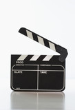 Motion picture clapper board