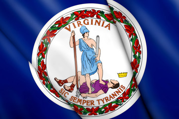 Flag of Virginia (USA)