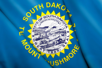 Flag pin - South Dakota (USA)