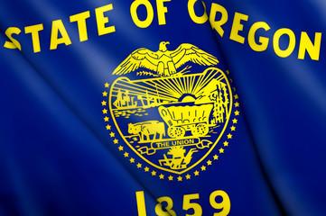 Flag of Oregon (USA)