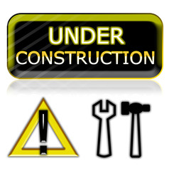"""under construction"" website icons"