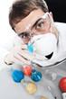 laboratory man