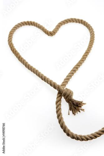 Corda a forma di cuore