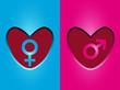 simbolos en corazon