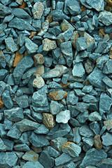 Blue gravel