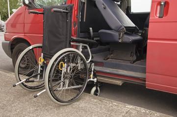 wheelchair facilitate van