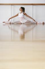 Ballet Dance Practicing