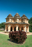 Lotus mahal of Zanana Enclosure at ancient town Hampi poster