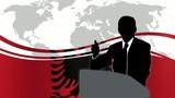 Leader Albania poster