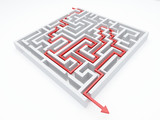 Fototapety arrow_maze