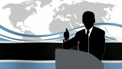 Leader Botswana