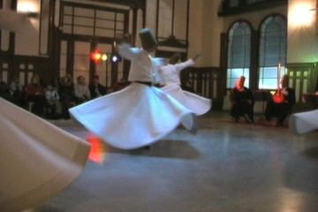 The Whirling Dervishes preform in Istanbul.