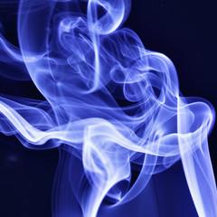Blue tobacco smoke