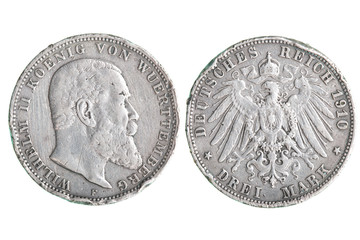 Antique Silver Germany coin