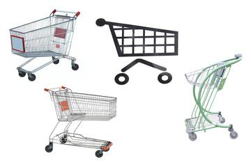 Shop trolleys