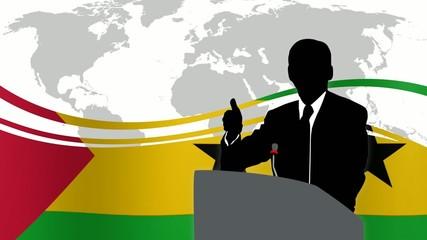 Leader Sao Tomé e Principe
