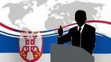 Leader Serbia poster