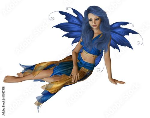 Poster Feeën en elfen Summer Fairy