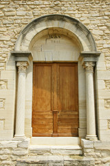 porte d'entrée eglise saint Romain