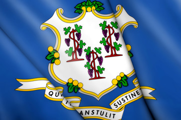 Flag of Connecticut (USA)