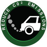 Reduce Carbon Emissions Vehicle poster