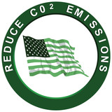 Reduce Carbon Emissions America poster
