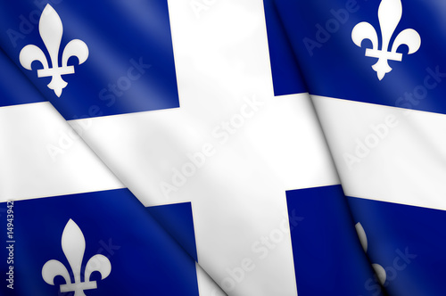 Flag of Quebec (Canada)