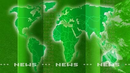 Newstextur grün