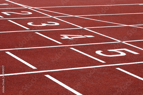 Papiers peints Jogging Piste d'athlétisme