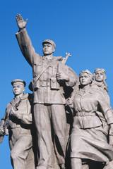 China, Beijing, Tiananmen Square, Mao Tse-Tung mausoleum