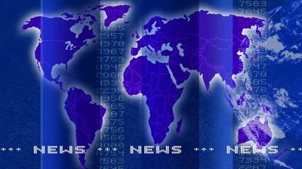 Newstextur blau