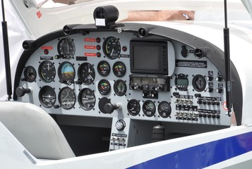Cockpit d' avion