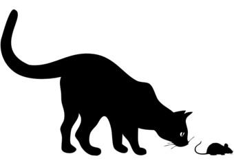 Wie Katz und Maus