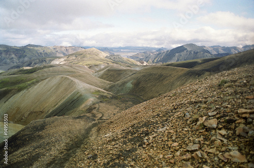 Rugged mountainous landscape